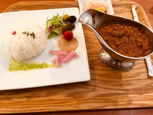 ゆりのき_シカ肉カレーセット
