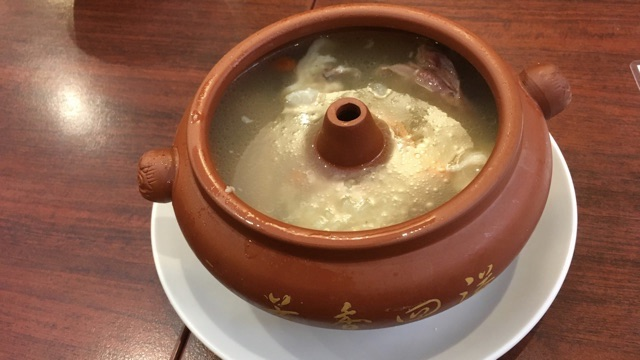 日興苑_薬膳スープ