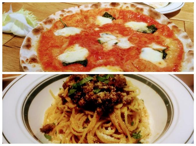 イタリアン食堂_ピザとパスタ
