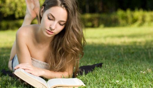 寝かしつけの本を読むイメージ