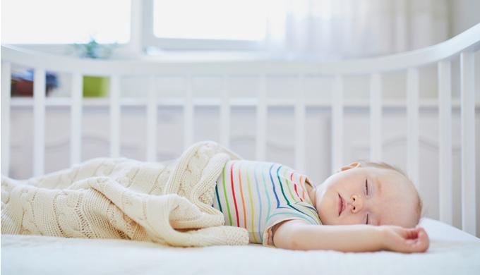 赤ちゃんが眠る環境のイメージ