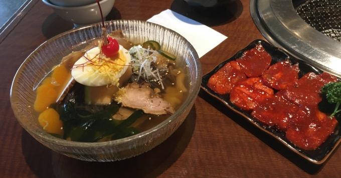 勝どき徳寿_冷麺