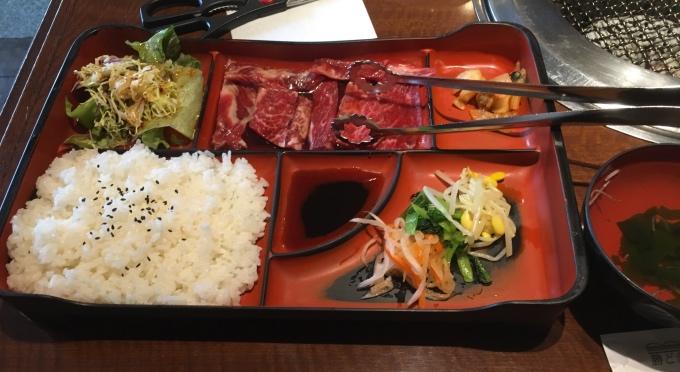 勝どき徳寿_焼き肉ランチ