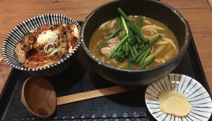 鶏関_カレーうどん