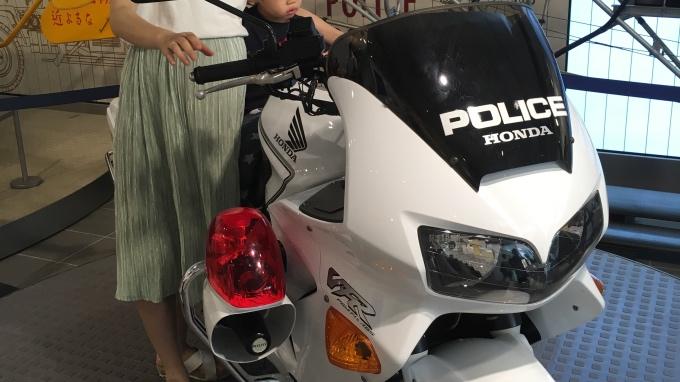 警察博物館_白バイ