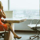 女性の転職活動のイメージ